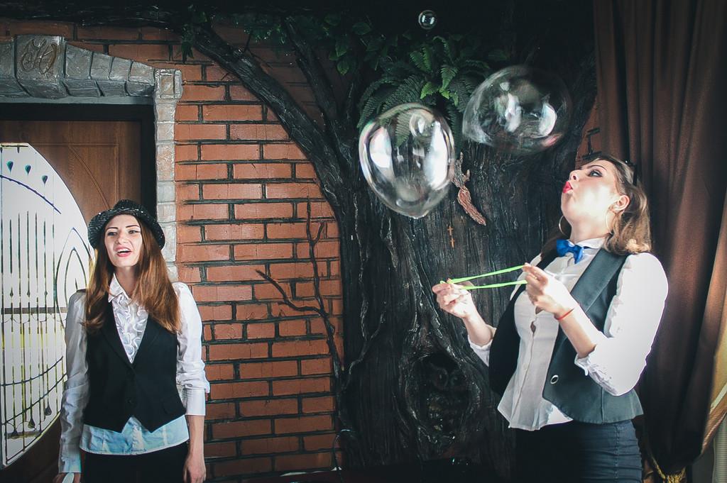 Проведение шоу мыльных пузырей 23