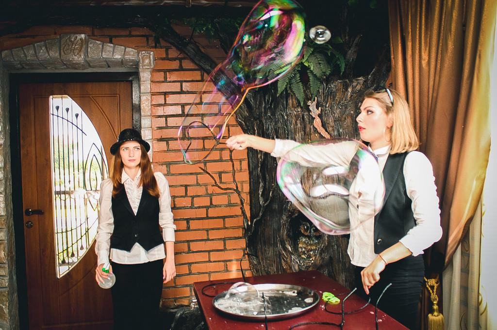Проведение шоу мыльных пузырей 19