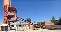 Бетонный завод производительностью 40к М3/ (конвейер)