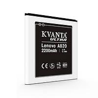 Аккумулятор Kvanta для Lenovo A820 2200mAh, фото 1
