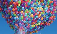 Для праздничного настроения: воздушные шарики оптом в разных количествах и красках