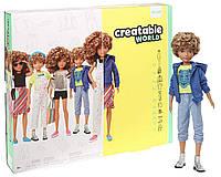 Кукла Creatable World Творимый Мир Deluxe светлые кудрявые волосы, фото 1