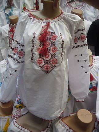 Вышитая женская футболка р.48-56, фото 2