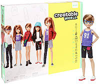 Кукла Creatable World Творимый Мир Deluxe медные прямые волосы, фото 1