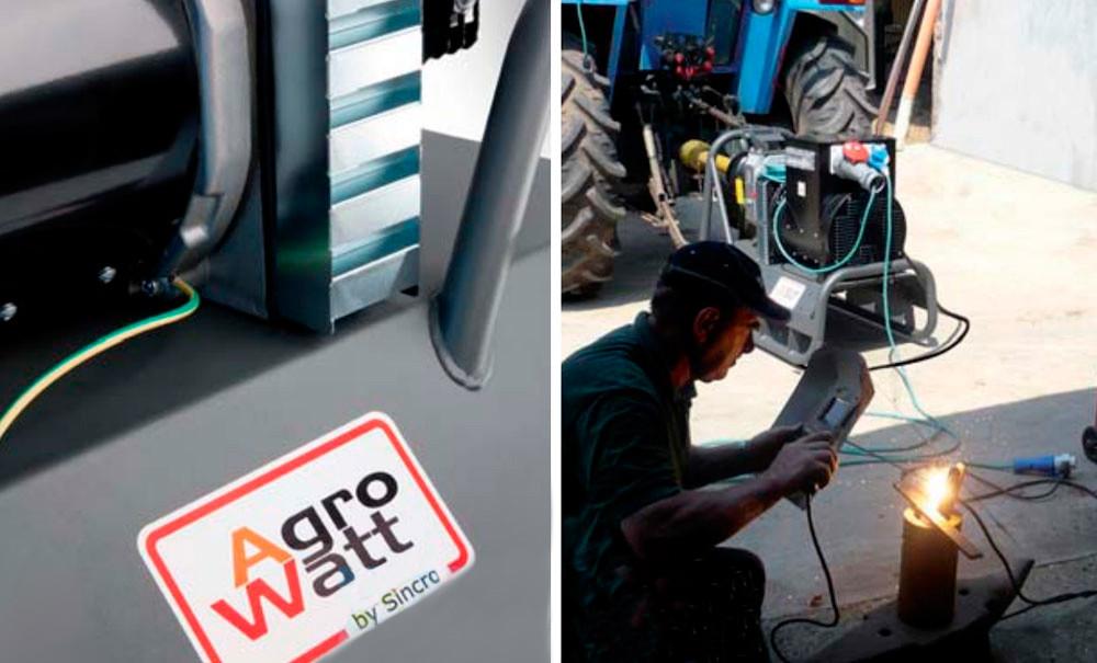 Сварочный тракторный генератор ВОМ AgroWeld ARC400TDC (10 кВА, 3ф~, сварочный модуль Sincro)