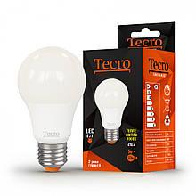 Лампа LED Tecro T-A60-5W-3K-E27 5W 3000K E27