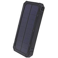 ✸Внешний аккумулятор Solar 20000 mAh Black для смартфона LED фонарик солнечная батарея повер банк, фото 2