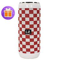 ✧Портативная колонка LZ M118 Red + White поддержка карты памяти USB флешка micro USB AUX вход для смартфона