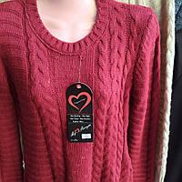Молодежный шерстяной свитер