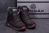 Мужские зимние кожаные ботинки ZG Adventure, фото 8