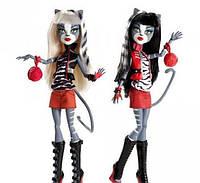 Набор кукол Monster High Meowlody &Purrsephone, Пурсефона и Мяулодия.