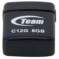 Флеш память USB 8GB Team C12G Black (TC12G8GB01)