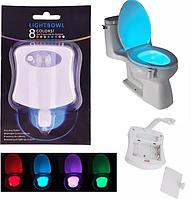 Подсветка Tolit LED для унитаза/туалет с датчиком движения LIGHTBOWL, фото 1