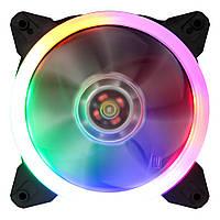 Вентилятор 1stPlayer R1 Color LED bulk; 120х120х25мм, 4-pin