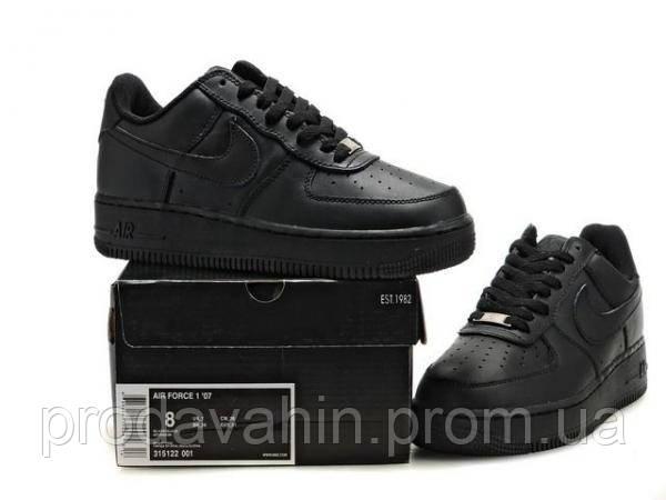 Кроссовки мужские NIke Air Force Low Черные. кроссовки цена, кроссовки  магазин - Интернет- 60c14396de1