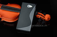 Силиконовый чехол Duotone для Sony M2 Aqua D2403 чёрный