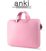 Сумка для ноутбука Anki 15.6' розовая, фото 1