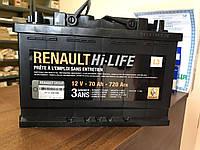 Аккумуляторная батарея (70 А*ч) Renault Scenic 2 (Original 7711238598)