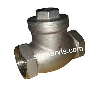 Лепестковый обратный клапан 1 дюйм из нержавеющей стали aisi304