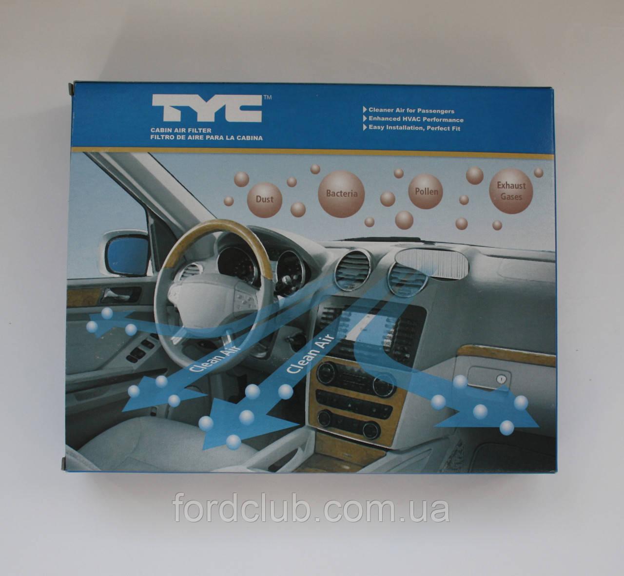 Фильтр салона Ford Mustang TYC 800197P