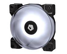 Вентилятор ID-Cooling DF-12025-RGB (Single Pack), 120х120х25мм, 4-pin PWM, чорний