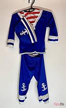 Карнавальный костюм Морячок 3в1 детский для мальчиков от 1 года
