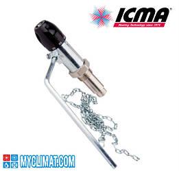 Регулятор тяги для твердотопливного котла Icma