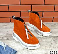 Женские зимние ботинки на молнии Zippi, фото 1