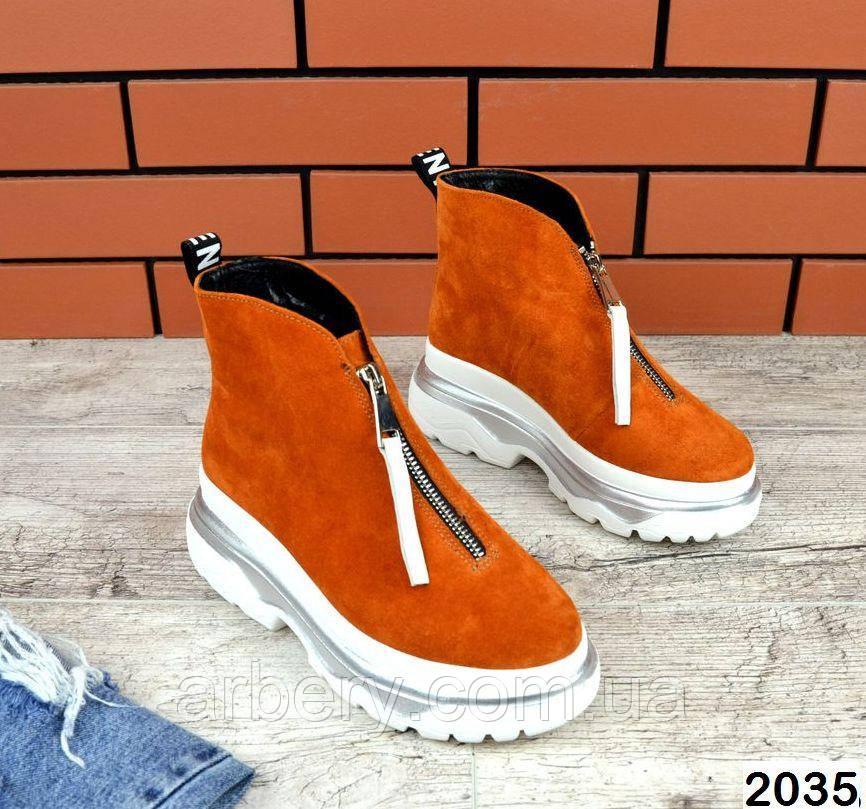 Женские зимние ботинки на молнии Zippi