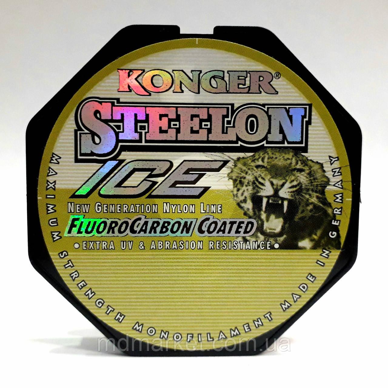 Леска Konger Steelon Fluorocarbon Coated ICE 50м 0.10мм