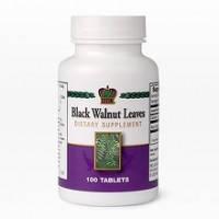 Листья черного ореха 100 табл. Антибактериальное и противоглистное