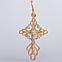 Золотой детский крестик ПП427а, фото 2