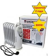 Масляный обогреватель Grunhelm GR-0708 800Вт, 7секций, защита от перегрева