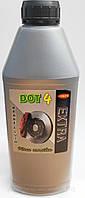 Тормозная жидкость ДОТ-4 Extra (упаковка 1 литр)