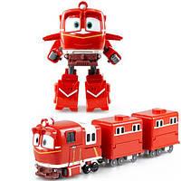Игровой набор Трансформер Альф - Игрушки Роботы Поезда (Robot Trains), Silverlit