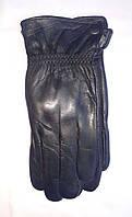 Кожаные перчатки мужские на флисе оптом со склада в Одессе