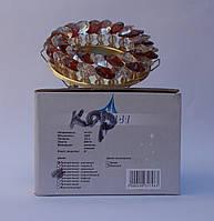 Встраиваемый  светильник Feron CD4141 MR16 (цвет корпуса прозрачно-коричневый, золото)