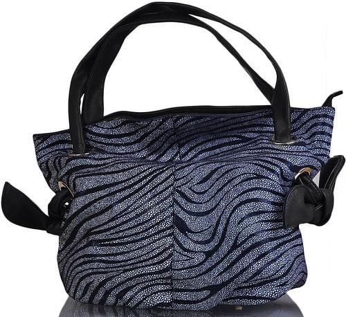 Качественная, красивая сумка из кожзама RICHEZZA (РИЧЕЗЗА) W9-2181-black
