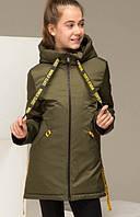 Куртка демисезонная для девочек. рост 128-146