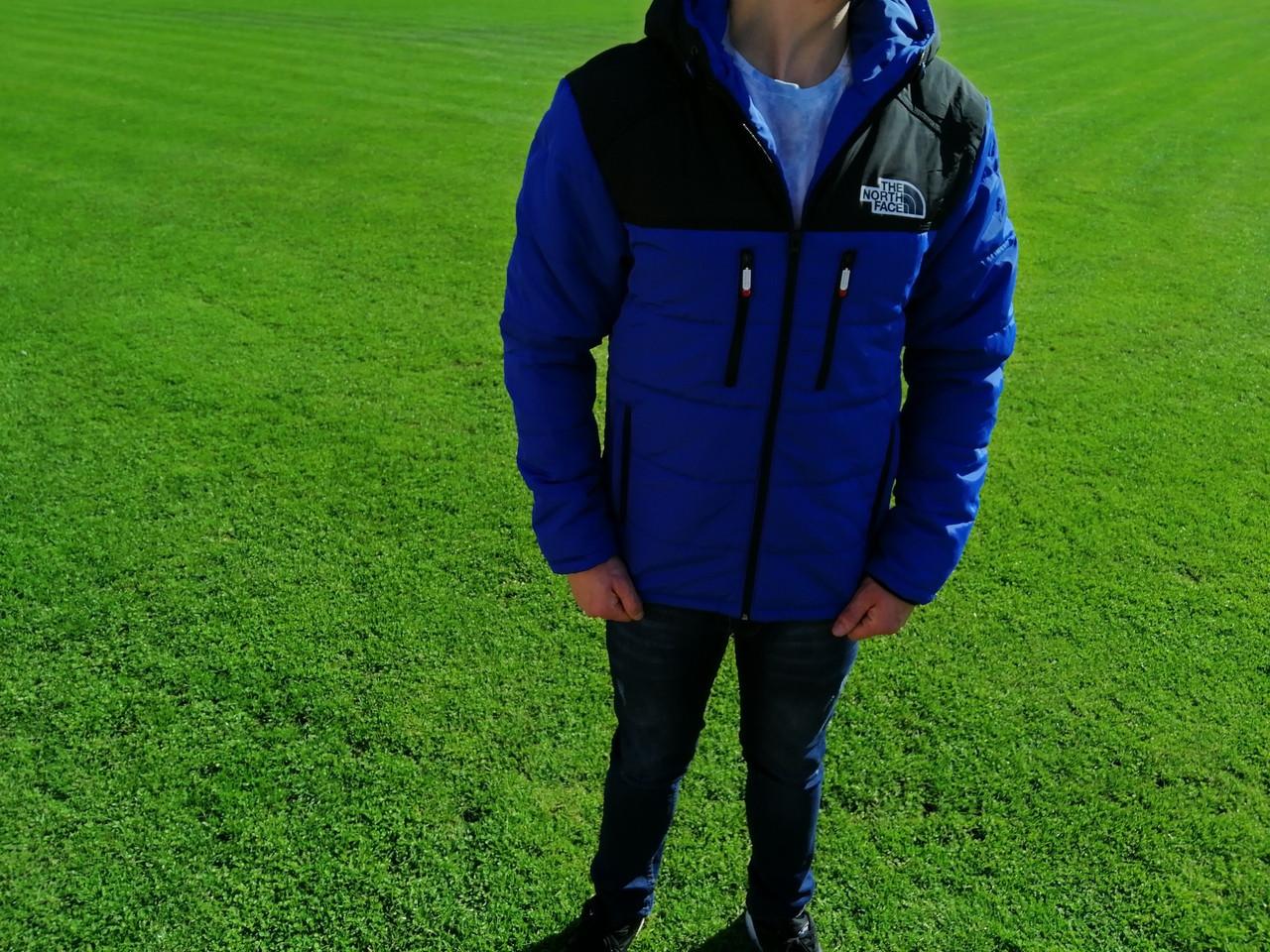 Куртка мужская синяя. Куртка демисезонная. ТОП КАЧЕСТВО!!!