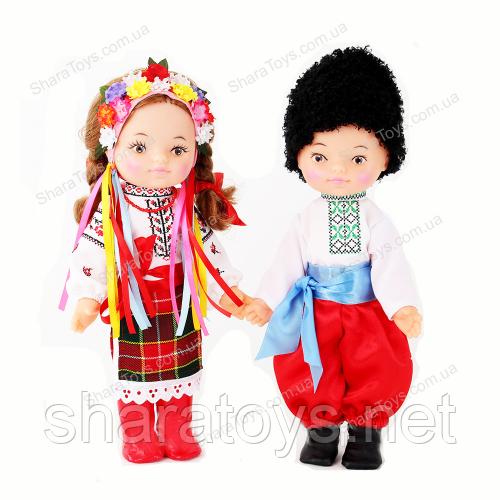 """Набор кукол """"Украинка и Украинец"""" простой наряд"""