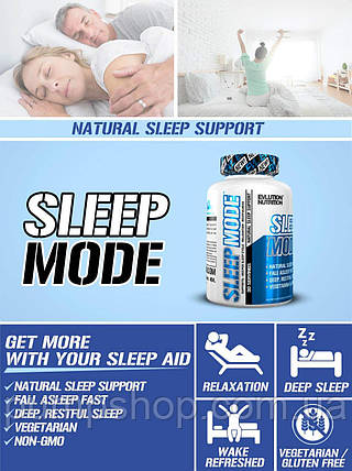 Добавка для сну Evlution Nutrition Sleep Mode 60 капс., фото 2