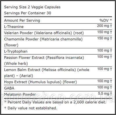 Добавка для сна Evlution Nutrition Sleep Mode 60 капс., фото 2
