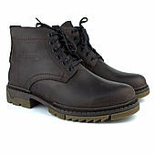 Большой размер зимние коричневые мужские ботинки ручной работы из кожи Rosso Avangard Ultimate Crazy Brown BS