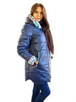 Модная, стильная удобная зимняя куртка