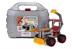 Металлический конструктор для детей.Металлический конструктор модели машин.