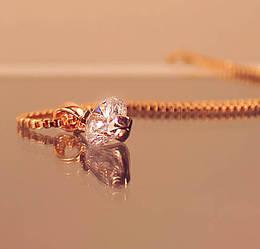 Кристалл цепочка на руку - 189456