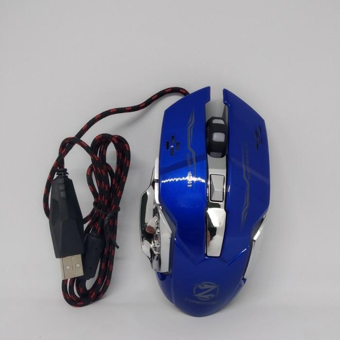 Игровая мышь с RGB подсветкой Zornwee Z32 Синяя
