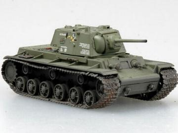 Russian KV-1 Moscow, August 1942.1/72 EASY MODEL 36288