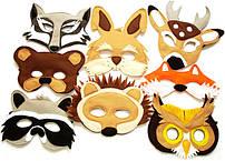Детские маски (новогодние)